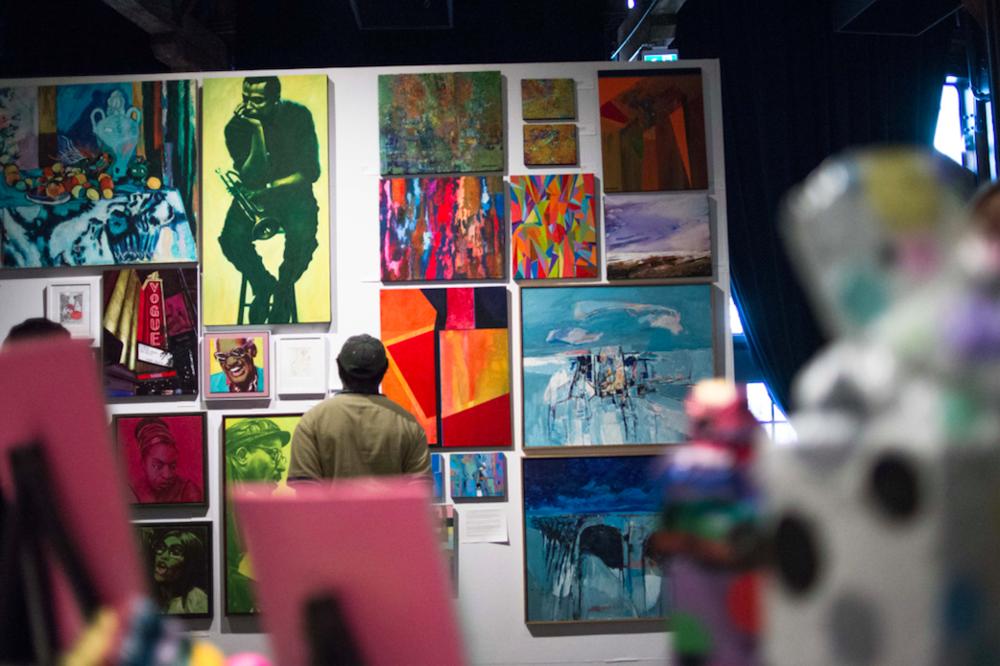 Vancouver Outsider Arts Festival 2017. Image: Sophia Dagher via Community Arts Council of Vancouver.
