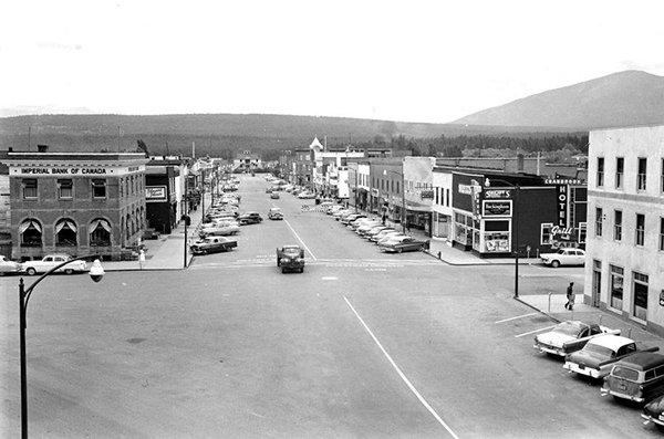 Cranbrook's Baker Street circa mid 1950s. | Image: Royal BC M