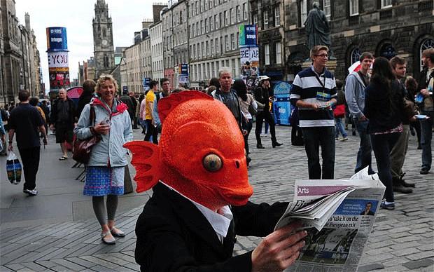 The Edinburgh Fringe. | Image: The Telegraph.