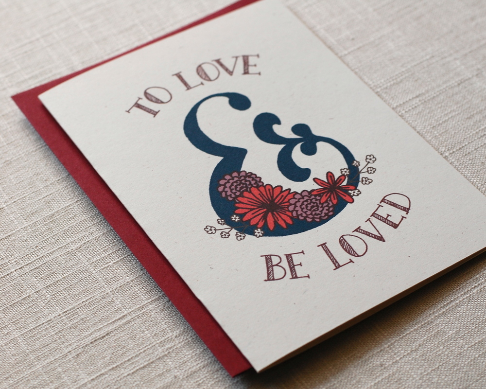 One Sharpened Pencil To Love & Be Loved Greeting Card