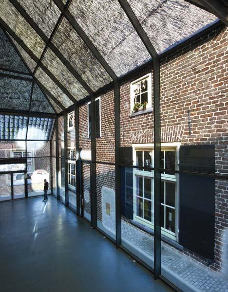 Interior of Glass Farm (Photo from Dezeen.com)