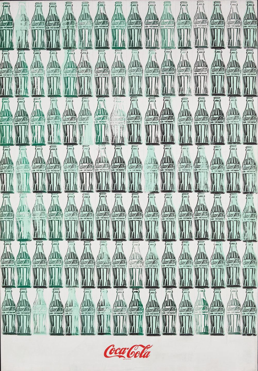 Andy Warhol,  Green Coca-Cola Bottles , 1962