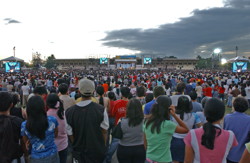 This is when I had the privilege to lead at the Franklin Graham Festival, Manila