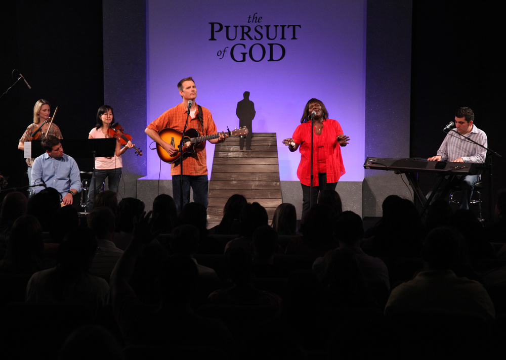 From The Pursuit Of God release concert