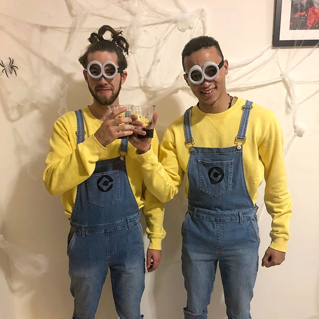 Just your average Saturday night minions