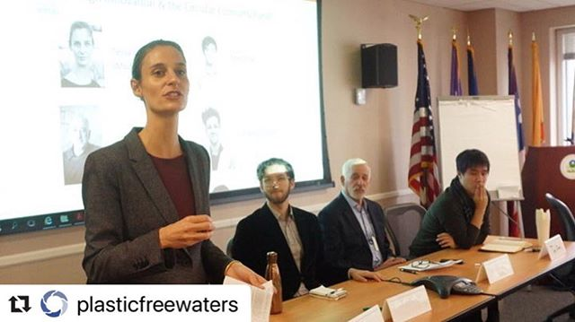 #Repost @plasticfreewaters ・・・ Fantastic DESIGN, INNOVATION AND CIRCULAR ECONOMY panel at today's PFW Partnership meeting! A huge thanks to our moderator, Tessa Vlanderaan @circularfutures and inspiring panelists, Tom Chan @triocup , Grant Goldner @instagrant_goldner and Jeffrey Silberman @fitnyc  Thank you @epagov Region 2 for hosting! (Photos: Atsuko Satake Quirk)