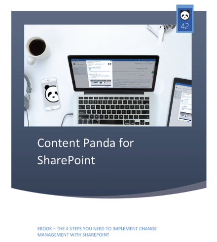 Content Panda for SharePoint Change Management eBook