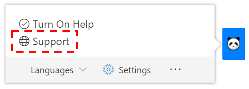 content-panda-SharePoint-TurnonHelp-Support.png
