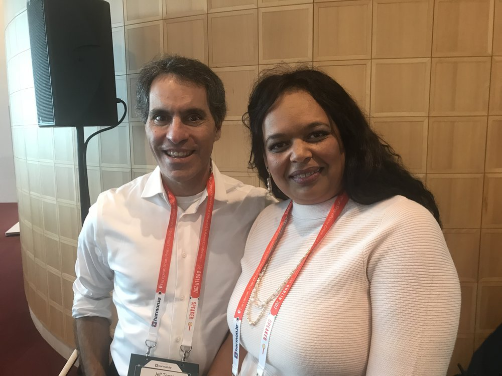 Jeff Teper and Karuana Gatimu at ESPC17.