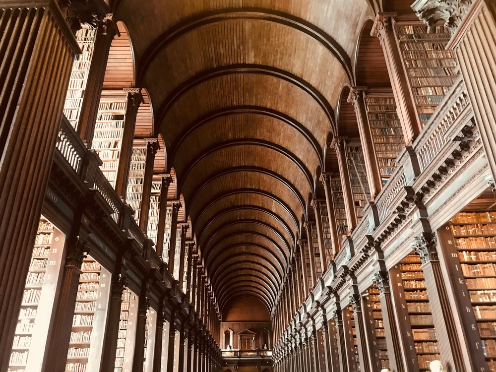 Trinity College Library Long Room, Dublin, Ireland