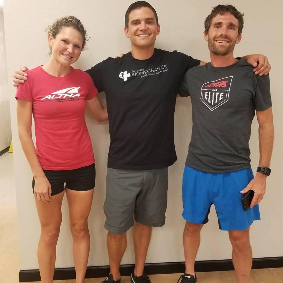 zach bitter  (Fastest american ultramarathoner ever)  Nicole kalogeropoulos-bitter  (us track & field 100-miler record holder)