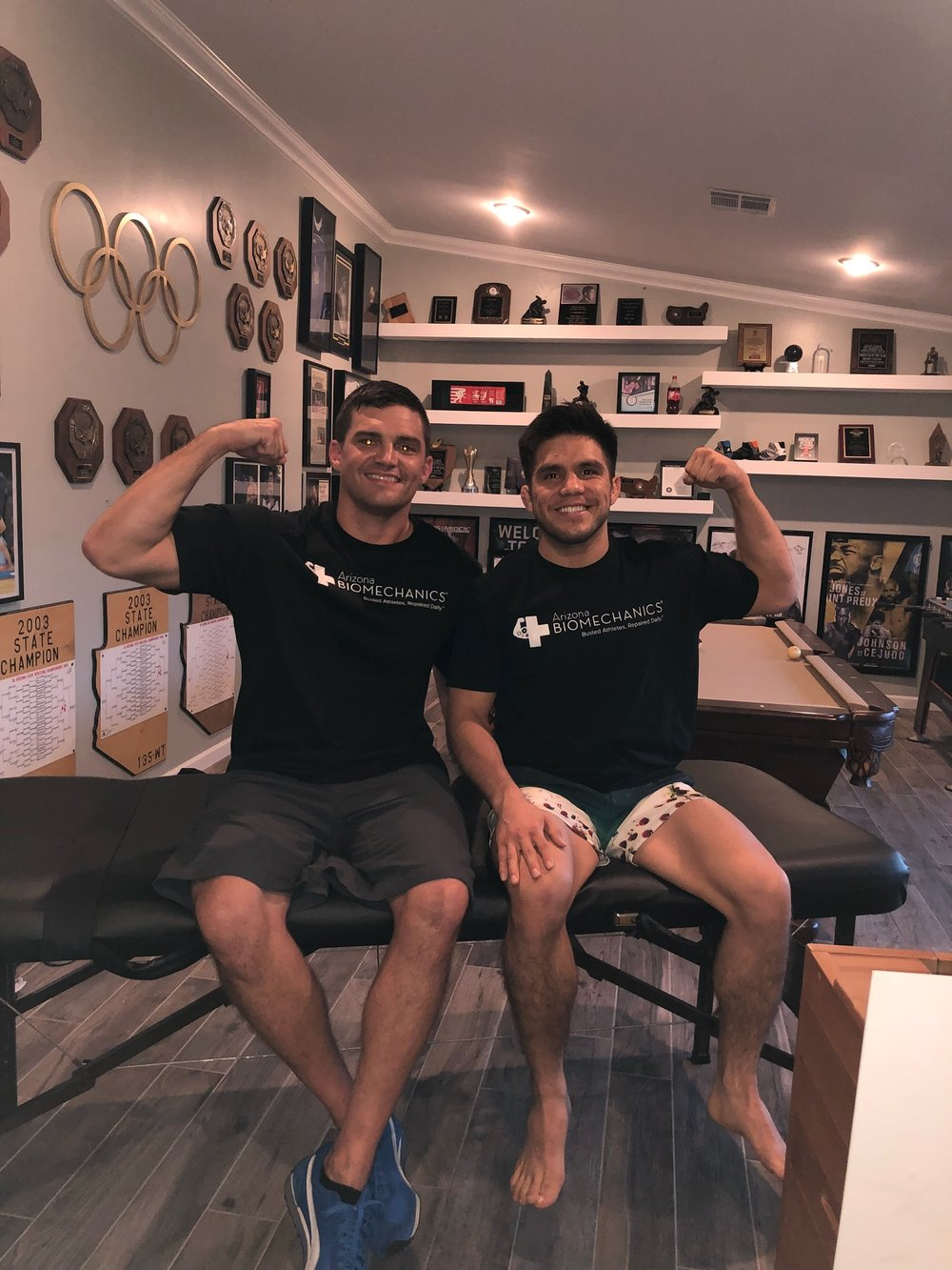 """thank you for all your help dr matt"" -HENRY cejudo   ufc flyweight contender  & olympic gold medalist"