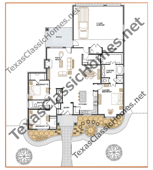 This is the floor plan for 2224-3-32.5-3