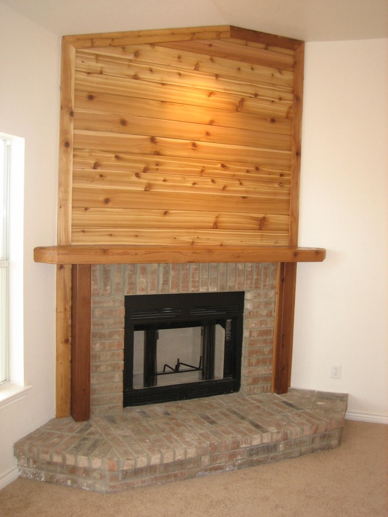 This is the beautiful fireplace!