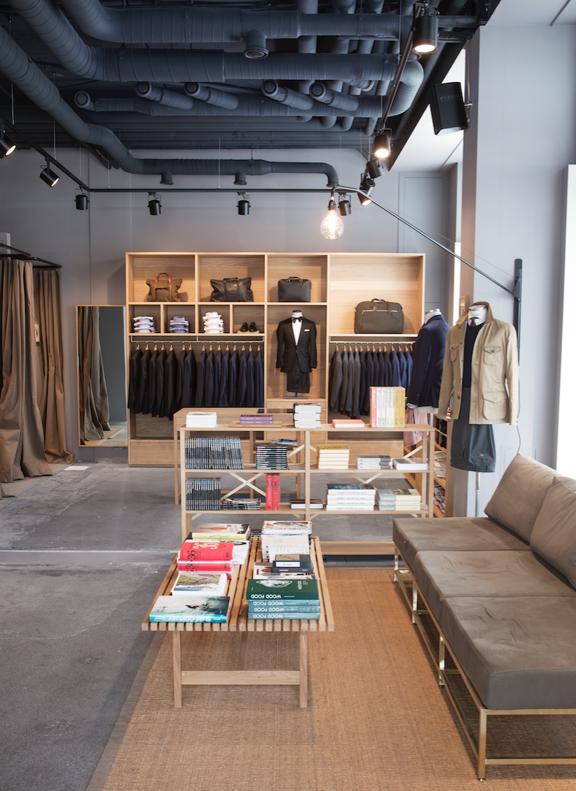 Zurich based  Pelikamo  is the go-to-place for menswear.