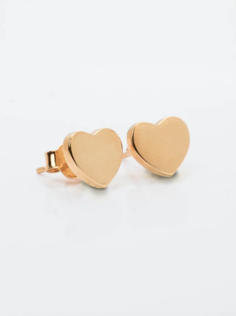 Heart Stud Earrings, CHF 89