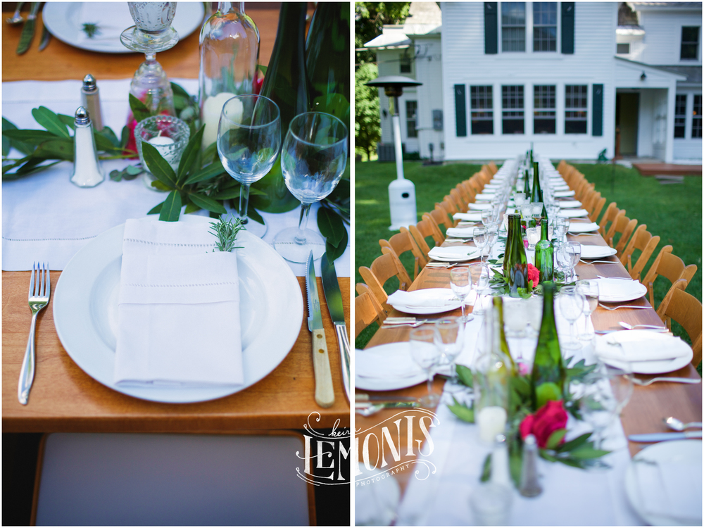 LOVE this long, beautiful table!