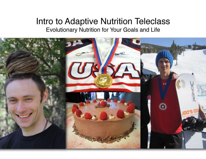 Intro to Adaptive Nutrition