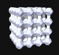 Molecular structure of Zeolite