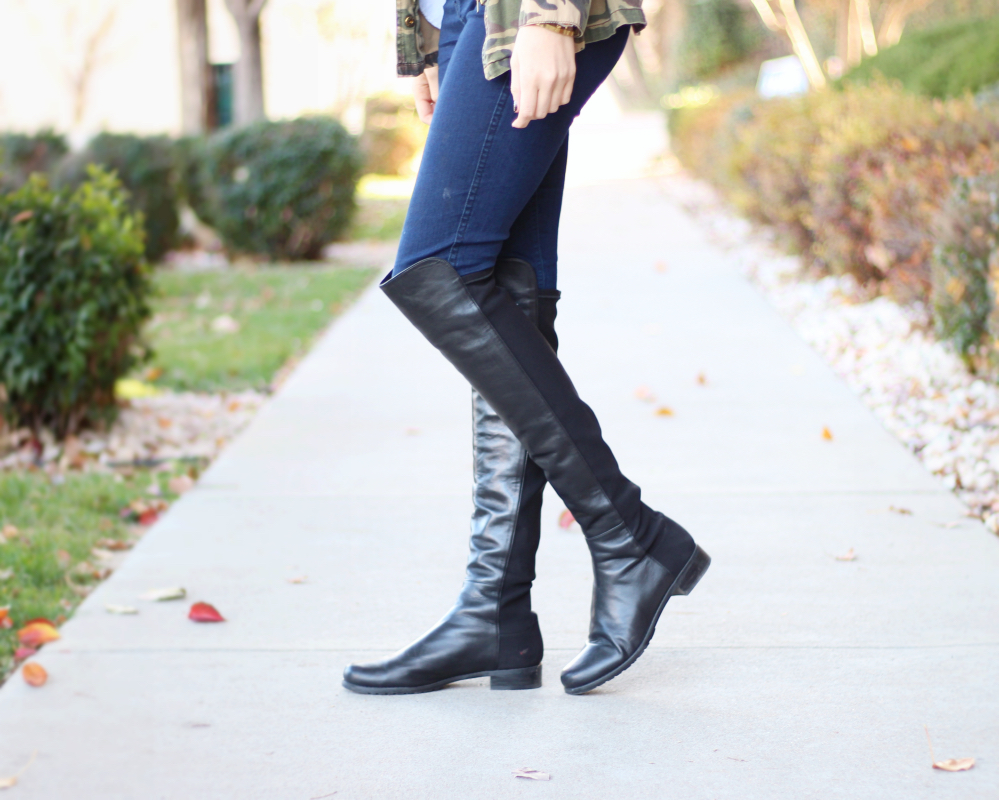 Stuart Weitzman 5050 Boot - www.withacitydream.com