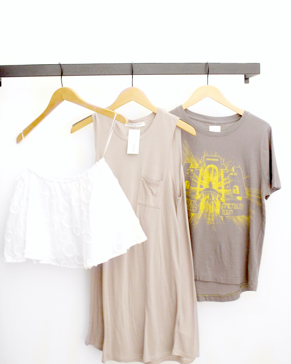 My favorites from Garbarini (I took the far right T-shirt home with me!)