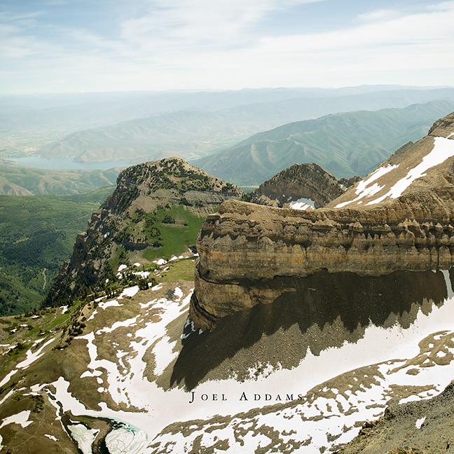 From Mt. Timpanogos, Utah. Photo by Joel Addams