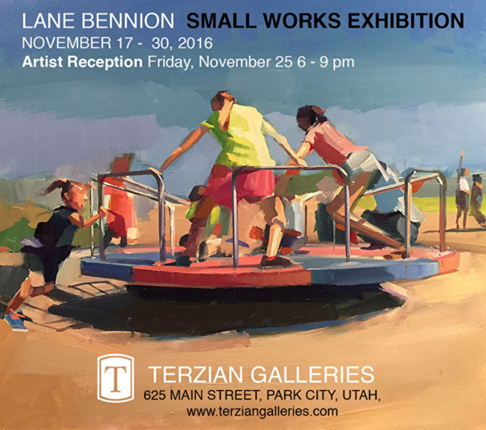 Artist Reception at Terzian Galleries for Lane Bennion