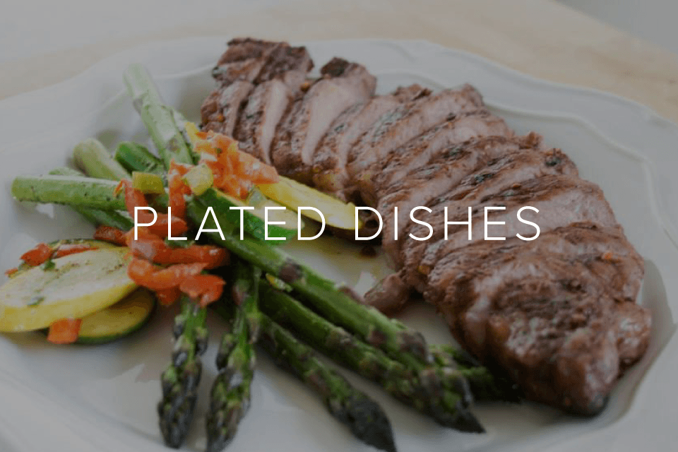 Plated Dishes