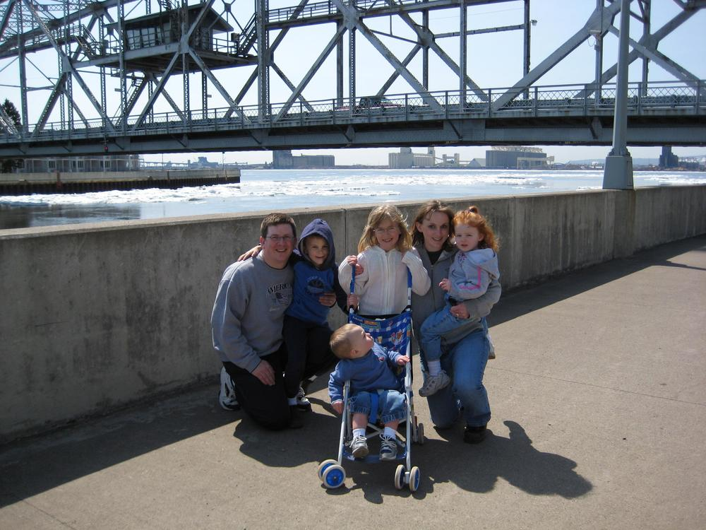 Family in Duluth, MN