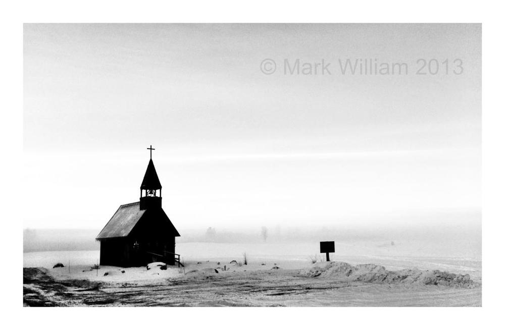 Church in a Fog