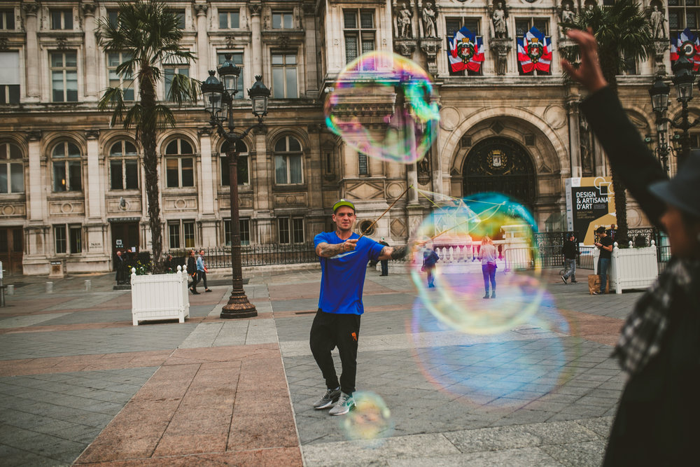 Bubble fun.