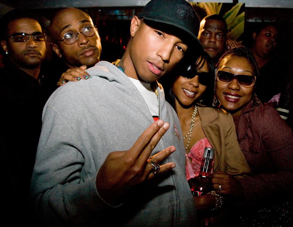 Pharrell et Entourage