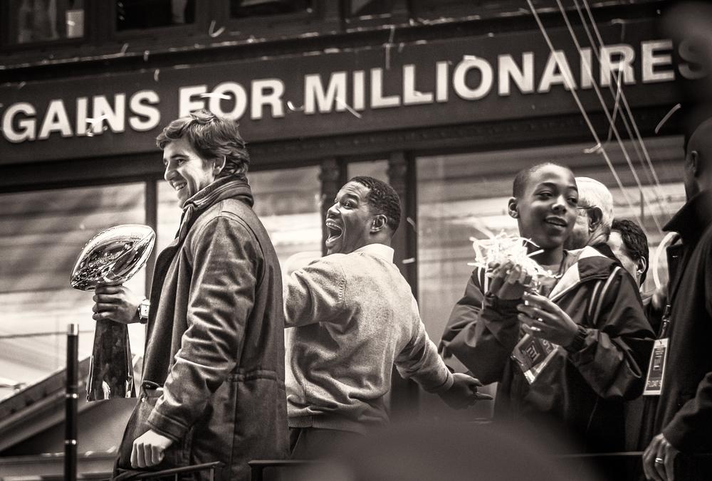 Gains for Millionaires