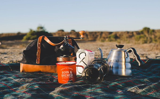 Camp & Pack Coffee Kit from Coffee & Tea Collective