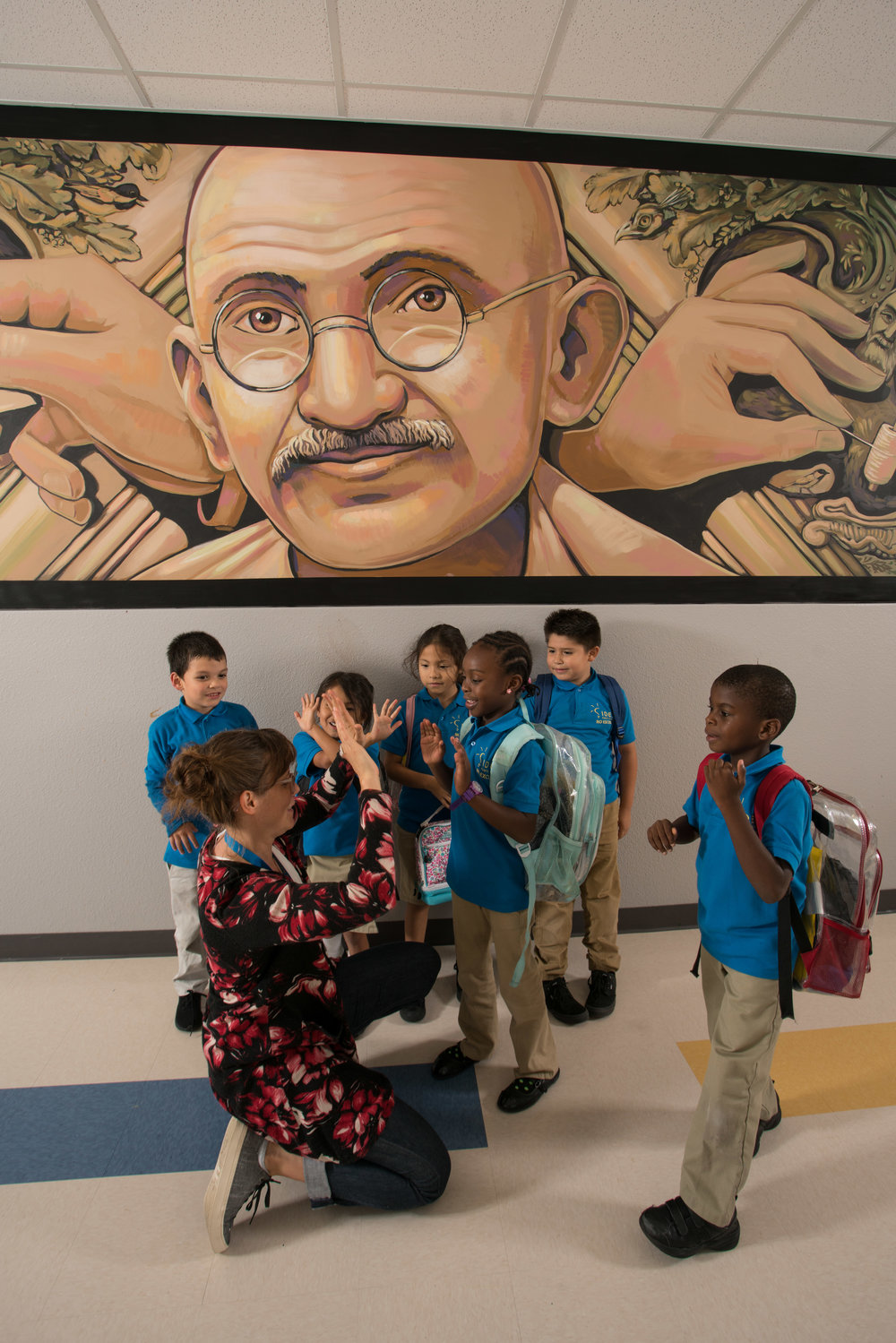 Gandhi and Students.jpg