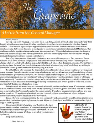Grapevine Vol. 10