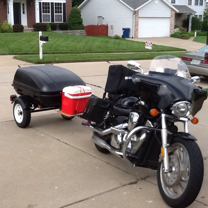 Packed and ready to ride!