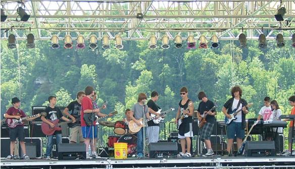 Rock Camp Final Performance