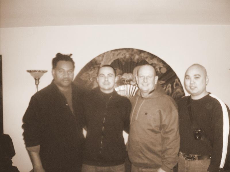 Sifu Harvey, Sigong Moses, Sifu Wicks, Sifu Ian Chow of Northern Legs/ Southern Fists