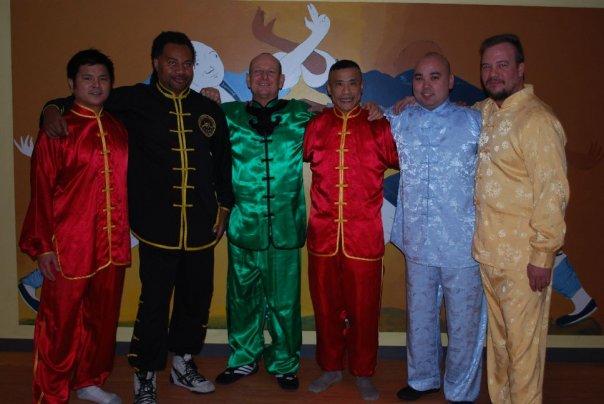 Sifu Ten, Sifu Harvey, Sigong Moses, Sifu Chong, Sifu Chow, Sifu Boutine
