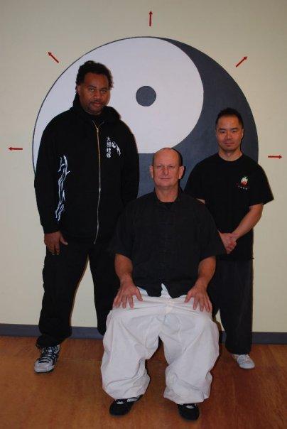 Sifu Harvey & Sifu Richard Wong with Sigong Moses