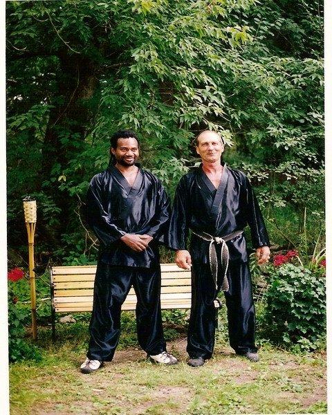 Sifu Harvey & Sifu Garry Bowman