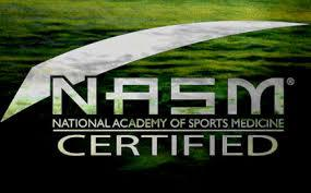 Nationally Certified Personal Training