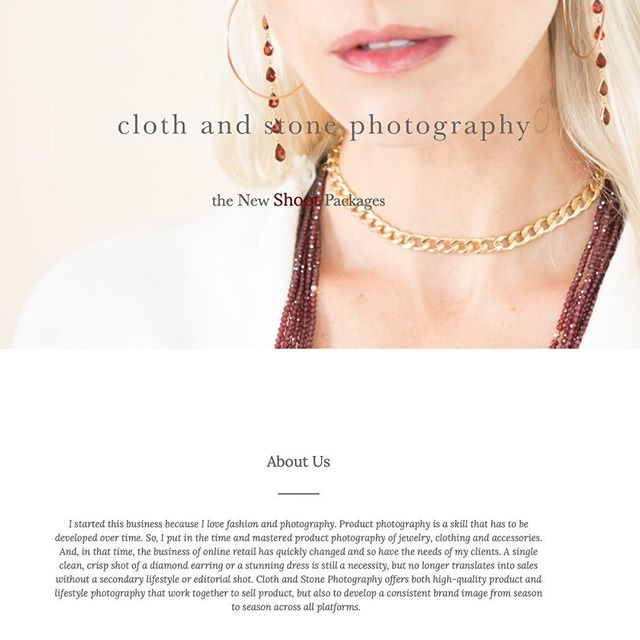 Link in bio to read a bit about us and the New Shoot Packages. Image from @robintermanjewelry shoot