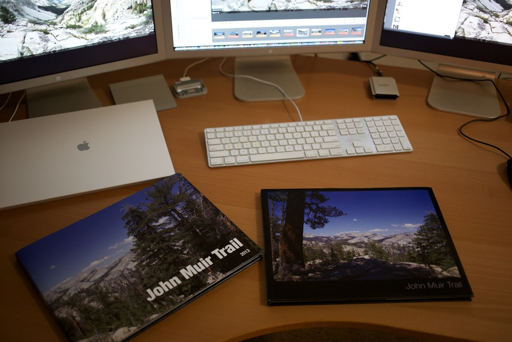 Two Aperture photo books of the John Muir Trail.