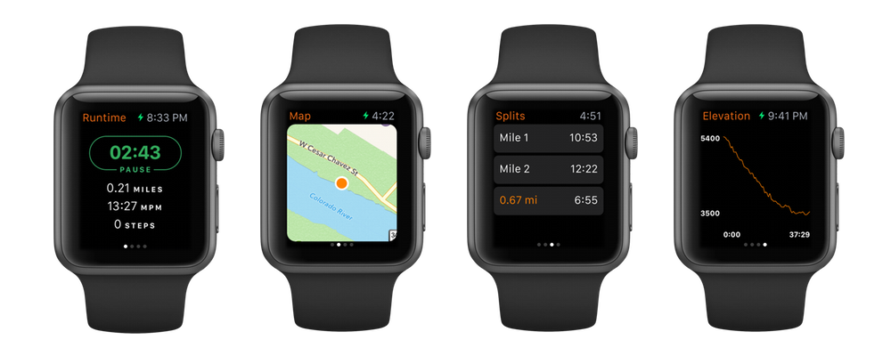 Runtime for Apple Watch