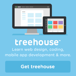 IRL Talk is also sponsored this week by Treehouse. Learn web design, coding, mobile app development, and more with Treehouse.
