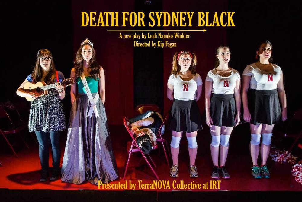 """The versatile, all-female cast and hilarious script       in Death for Sydney Black mix Mean Girls, American Pie, and a number of beloved Disney princess tales with bawdy, dark humor, and pop culture references. If you're a fan of any of the aforementioned movies you'll probably enjoy this show; we are, and we did.""  -Maxamoo.com"