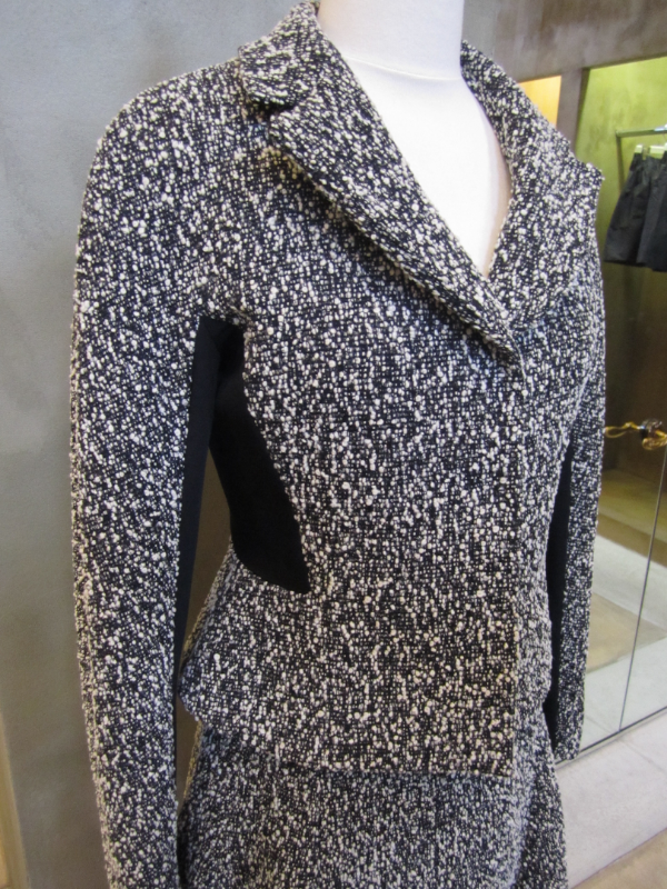 Liday Baday Boucle Contrast Jacket detail.