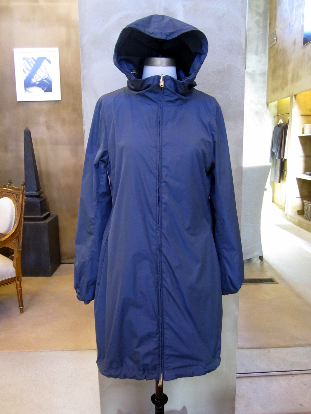 Herno Fine Fly Nylon Coat Reverse.